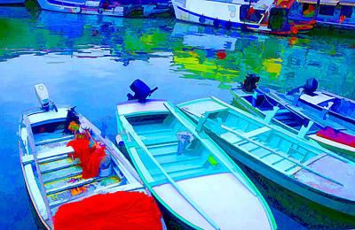 Boats Print by Mauro Celotti