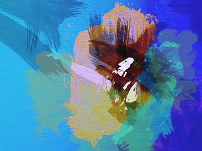 Reggie Music Art Painting - Bob Marley 2 by Naxart Studio