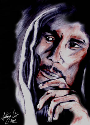 Damian Photograph - Bob Marley by Anthony Citro