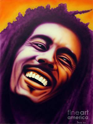 Bob Marley Print by Bruce Carter