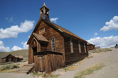 Ghost Town Photograph - Bodie 011 by Earl Bowser
