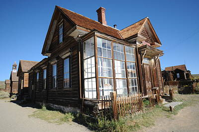 Ghost Town Photograph - Bodie 02 by Earl Bowser