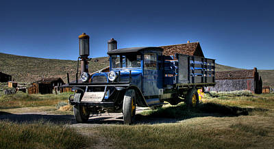 Old Trucks Photograph - Bodie Gas Stop by Chris Brannen