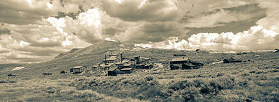 Bodie Ghost Town California Gold Mine Print by Scott McGuire
