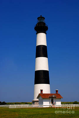 Bodie Island Lighthouse Outer Banks Nc Print by Susanne Van Hulst
