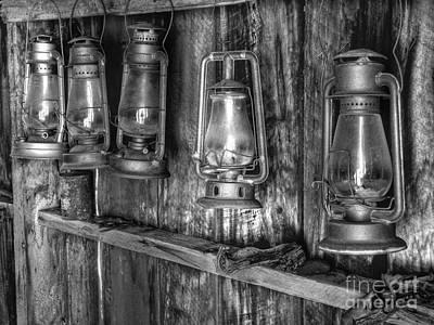 Arrest Photograph - Bodie Lanterns by Scott McGuire