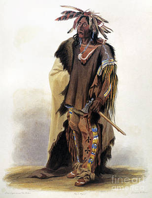 Bodmer: Sioux Chief Print by Granger