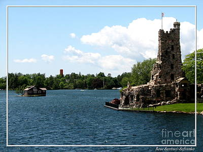 Hearts Photograph - Boldt Castle Alster Tower Playhouse And Mother In Laws House by Rose Santuci-Sofranko