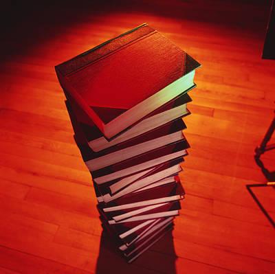 Books Print by Tek Image