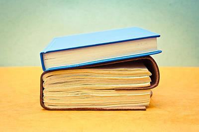 Books Print by Tom Gowanlock