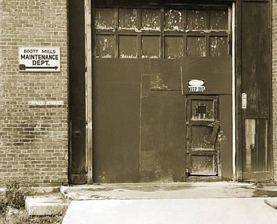 Boott Mills Maintenance Original by Jan W Faul