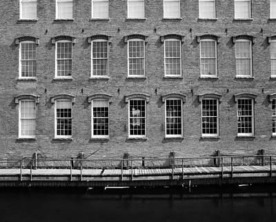 Boott Mills Water Original by Jan Faul