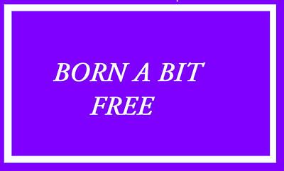 Free Speech Digital Art - Born A Bit Free  by Robert Gould