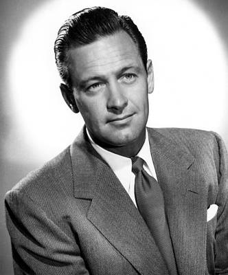 1950 Movies Photograph - Born Yesterday, William Holden, 1950 by Everett