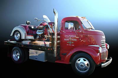 Boss Hoss Truck Print by Bill Dutting