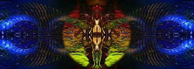Transcend Digital Art - Bound By Desire by David Kleinsasser