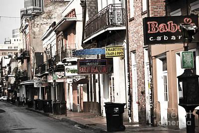 Leda Photograph - Bourbon Street by Leslie Leda