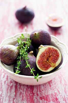 Moscow Photograph - Bowl Of Figs by Verdina Anna