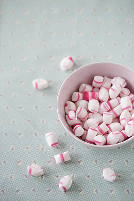 Bowl Of Sweets Print by Elin Enger