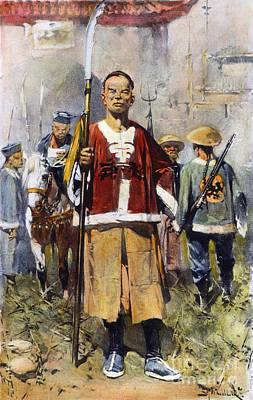 Boxer Rebellion, 1900 Print by Granger