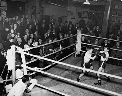Boys Boxing Photograph - Boxing Nursery by George Konig