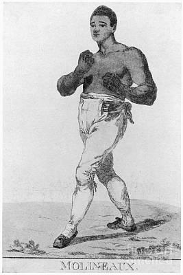 Boxing: Thomas Molineaux Print by Granger