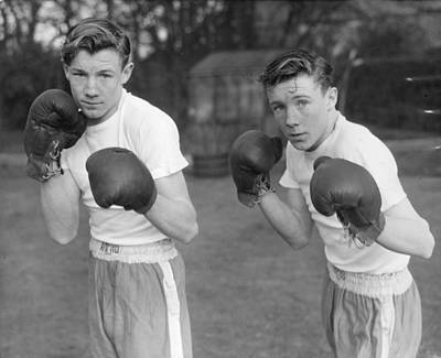 Boys Boxing Photograph - Boxing Twins by Greated