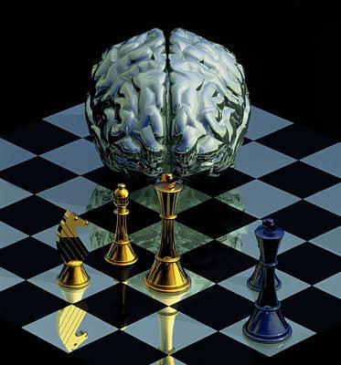 Brainpower Print by Laguna Design