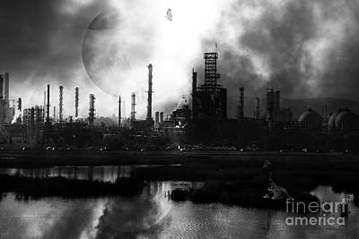 Huxley Photograph - Brave New World - Version 2 - Black And White - 7d10358 by Wingsdomain Art and Photography