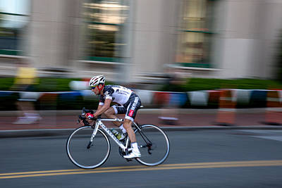 Bike Races Photograph - Breakaway by John Dryzga