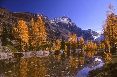 Breathtaking Mountain Scenery, Opabin Print by Bilderbuch