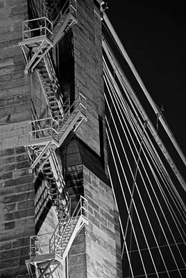 Cincinnati Photograph - Bricks And Cables by Russell Todd