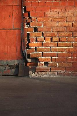 Bricks Print by Pat Williams