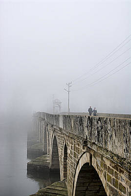 See Fog Photograph - Bridge - 3 by Okan YILMAZ