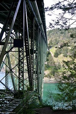Whidbey Island Wa Photograph - Bridge At Deception Pass by Mitch Shindelbower