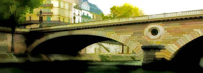 Bridge Print by Photography Art