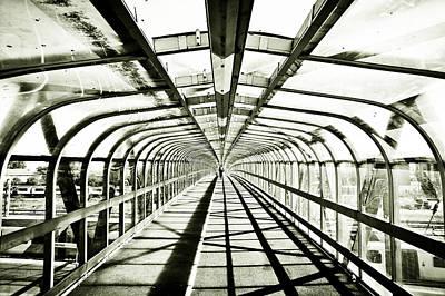 Eternity Photograph - Bridge In Monochrome by Tom Gowanlock