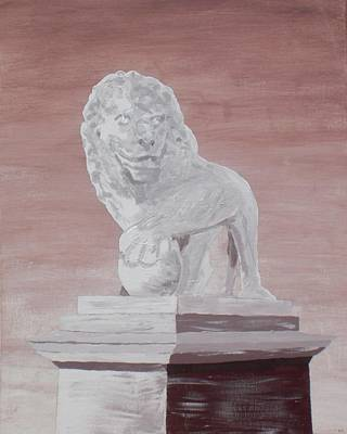 Bridge Of Lions - Panel 1 Original by Kelvin Kelley