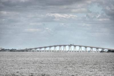 Digital Art - Bridge Passage by Barry R Jones Jr