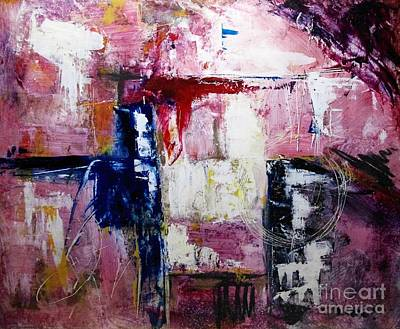 Abstract Painting - Bridge by Stephen Roberson
