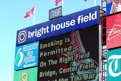 Bright House Field Print by Carol Christopher