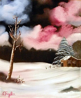 Painting - Bright Night by Amity Traylor