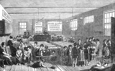 British Ragged School Print by Granger
