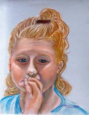Broken Hearted Print by Carol Allen Anfinsen