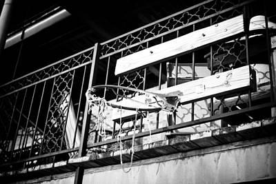 Clarksville Photograph - Broken Hoops by Paul Bartoszek