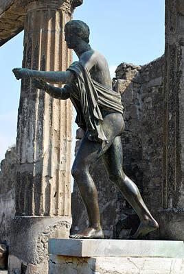 Bronze Of Apollo. Original by Terence Davis
