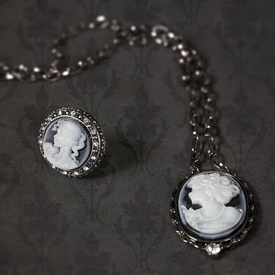 Necklace Photograph - Brooch And Necklace by Joana Kruse