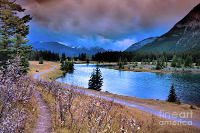 Alberta Landscape Photograph - Brooding Skies by Tara Turner