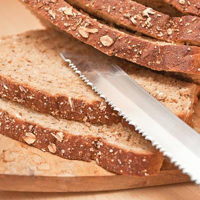 Granary Photograph - Brown Bread by Tom Gowanlock