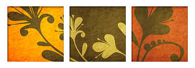 Brown Decor Print by Nomi Elboim